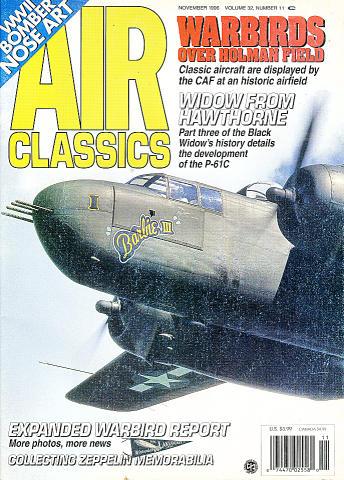 Air Classics Vol. 32 No. 11 Magazine