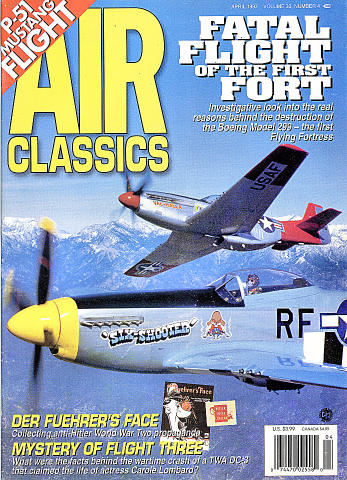 Air Classics Vol. 33 No. 4 Magazine