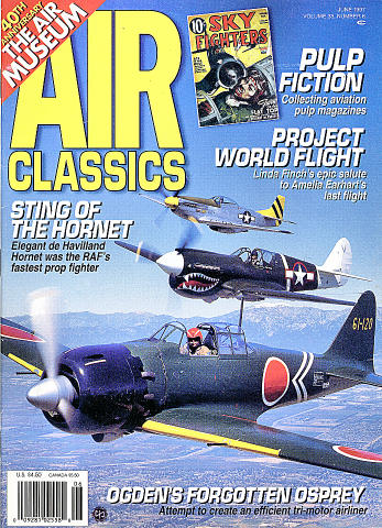 Air Classics Vol. 33 No. 6 Magazine
