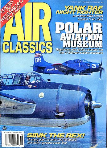 Air Classics Vol. 33 No. 8 Magazine