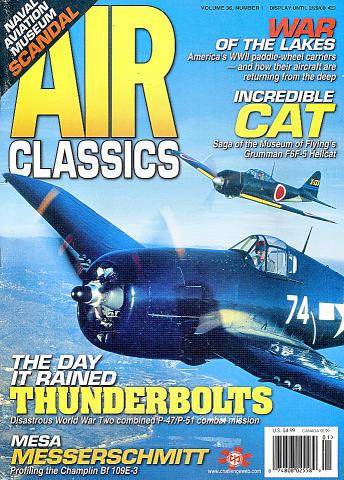 Air Classics Vol. 36 No. 1 Magazine