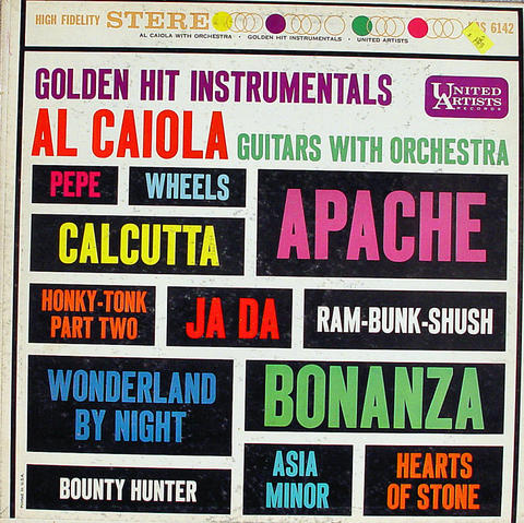 "Al Caiola Guitars With Orchestra Vinyl 12"" (Used)"