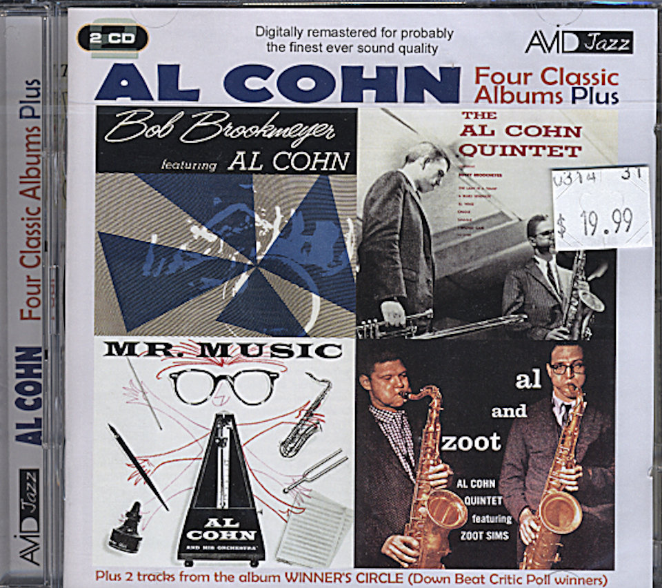 Al Cohn CD