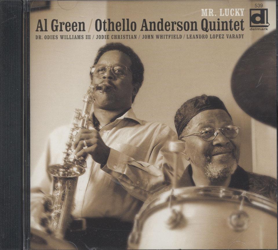 Al Green/ Othello Anderson Quintet: Mr. Lucky CD