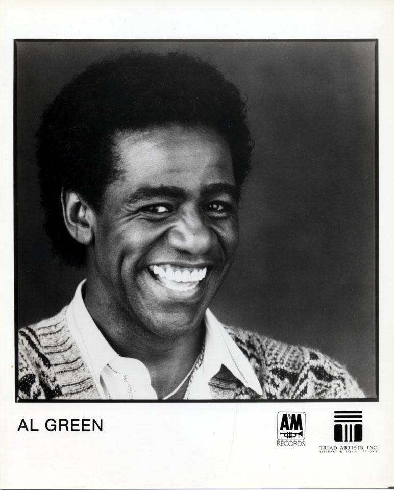 Al Green Promo Print