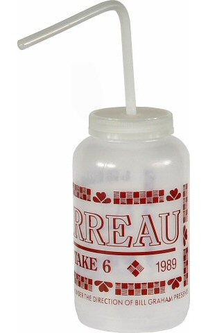 Al Jarreau Water Bottle reverse side