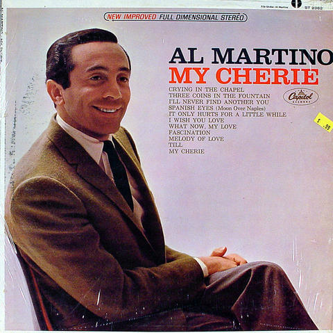 "Al Martino Vinyl 12"" (Used)"