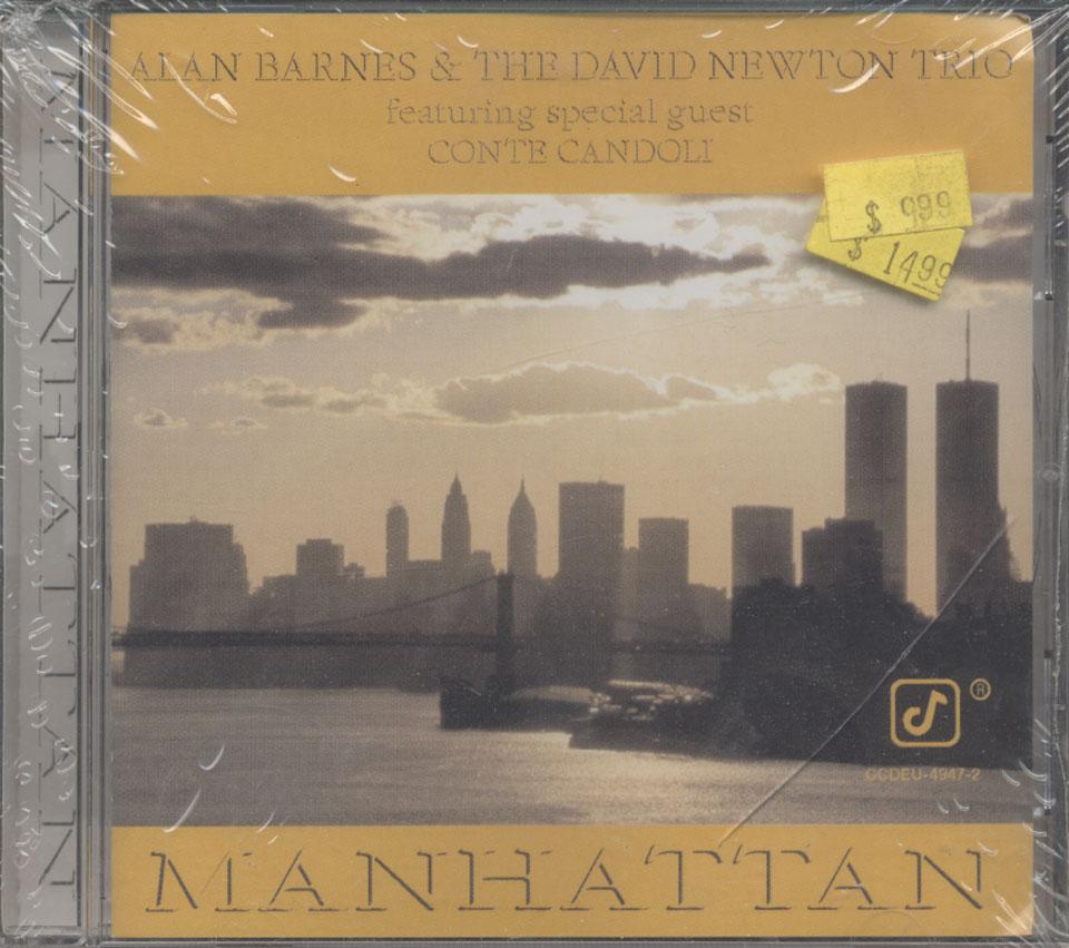 Alan Barnes & The David Newton Trio CD