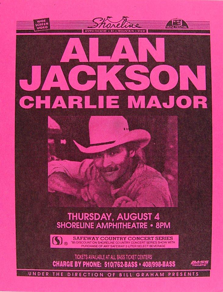 Alan Jackson Handbill