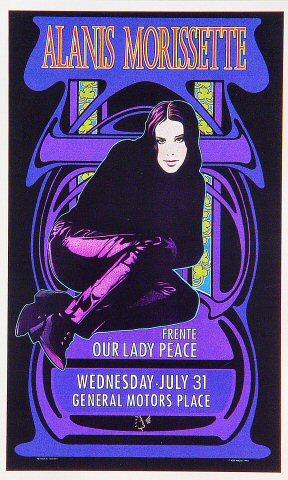 Alanis Morissette Handbill