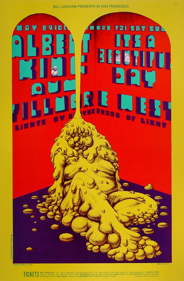 Albert King Handbill