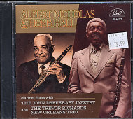Albert Nicholas & Herb Hall CD