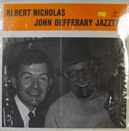 "Albert Nicholas / John Defferary Jazztet Vinyl 12"" (New)"