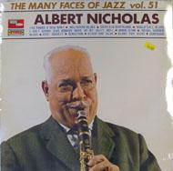 "Albert Nicholas Vinyl 12"" (New)"