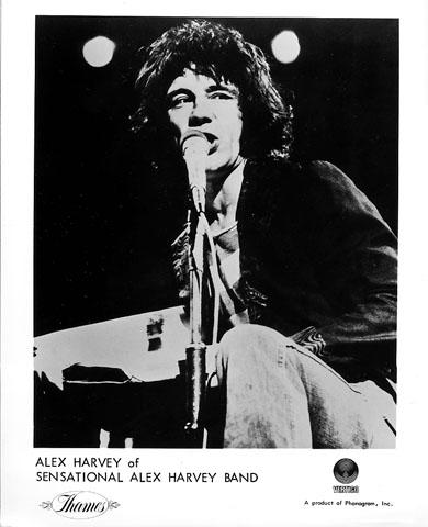 Alex Harvey Promo Print