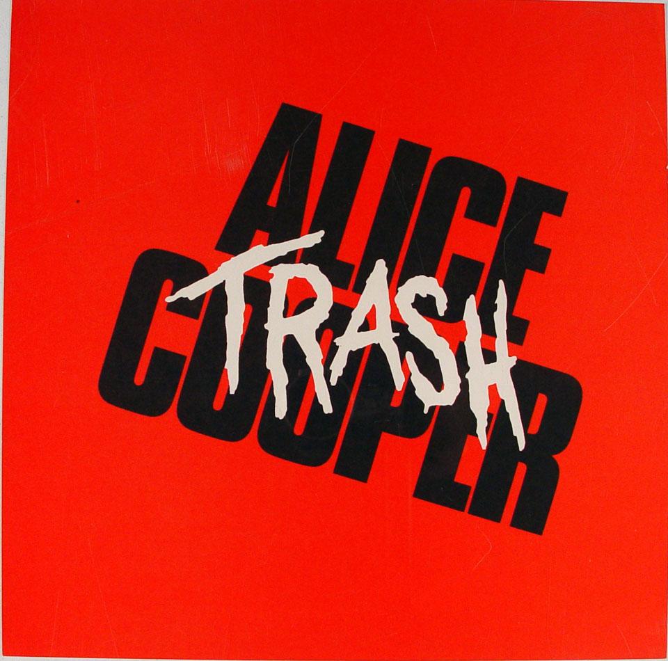 Alice Cooper Album Flat reverse side