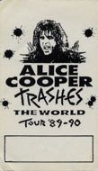 Alice Cooper Backstage Pass