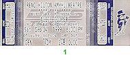 Alice Cooper Vintage Ticket