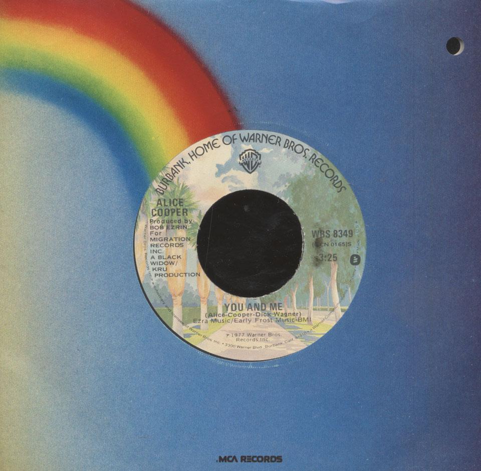 """Alice Cooper Vinyl 7"""" (Used)"""