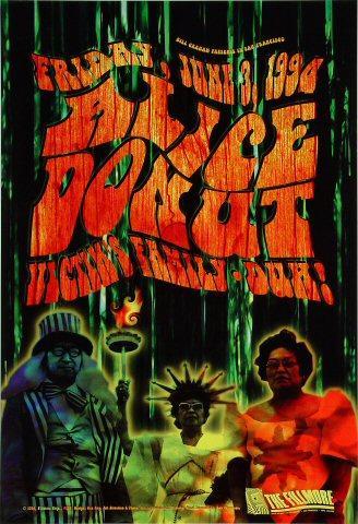 Alice Donut Poster