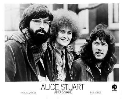 Alice Stuart and Snake Promo Print