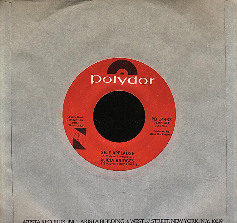 """Alicia Bridges Vinyl 7"""" (Used)"""