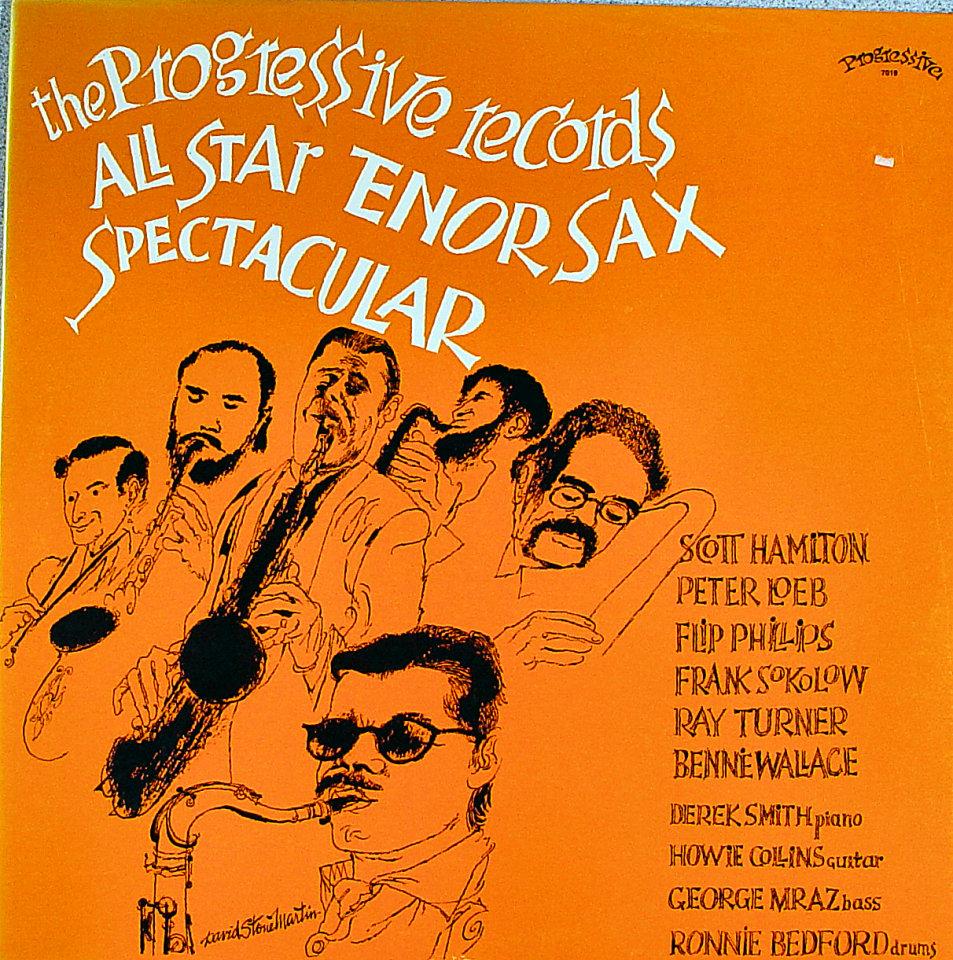 "All Star Tenor Sax Spectacular Vinyl 12"" (New)"