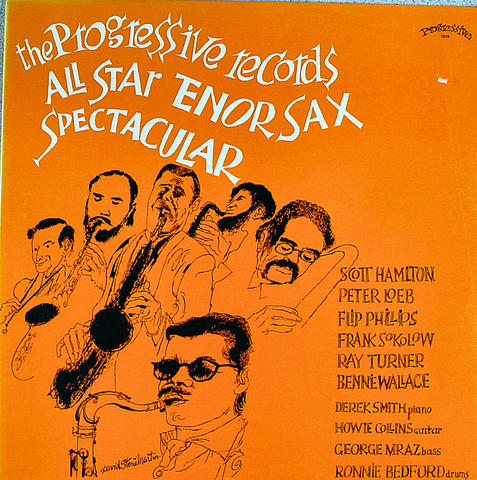 "All Star Tenor Sax Spectacular Vinyl 12"" (New)"