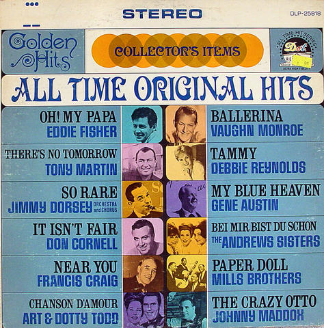 "All Time Original Hits Vinyl 12"" (Used)"