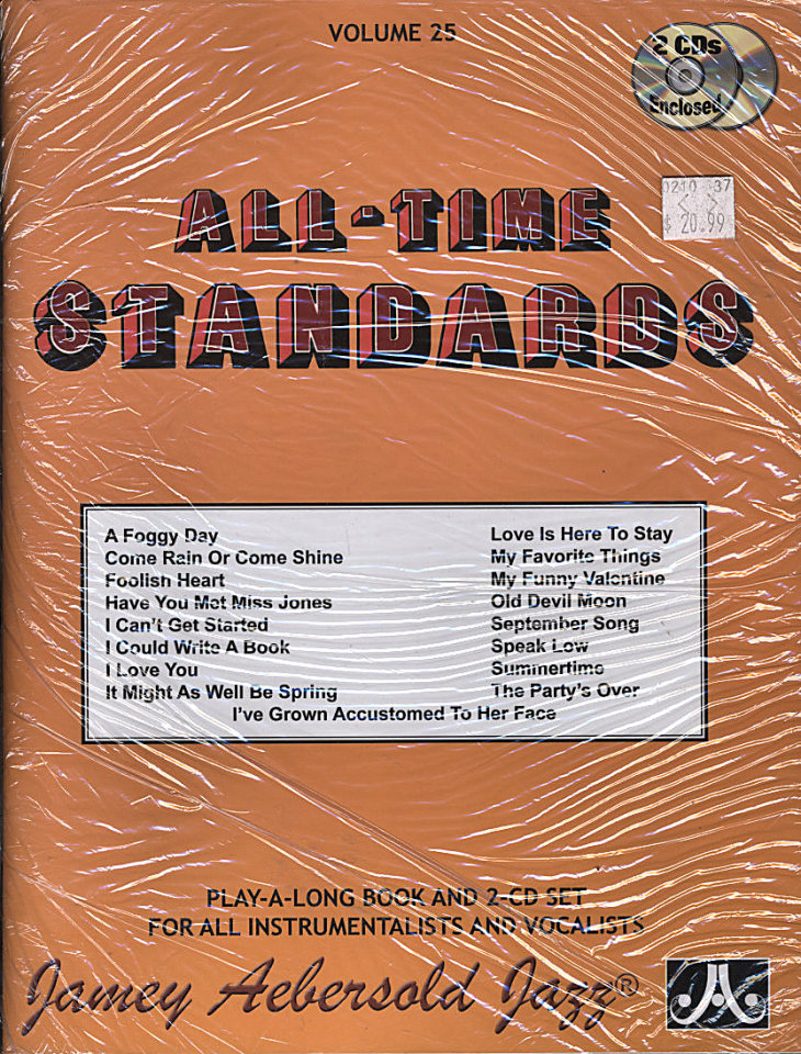 All-Time Standards: Volume 25