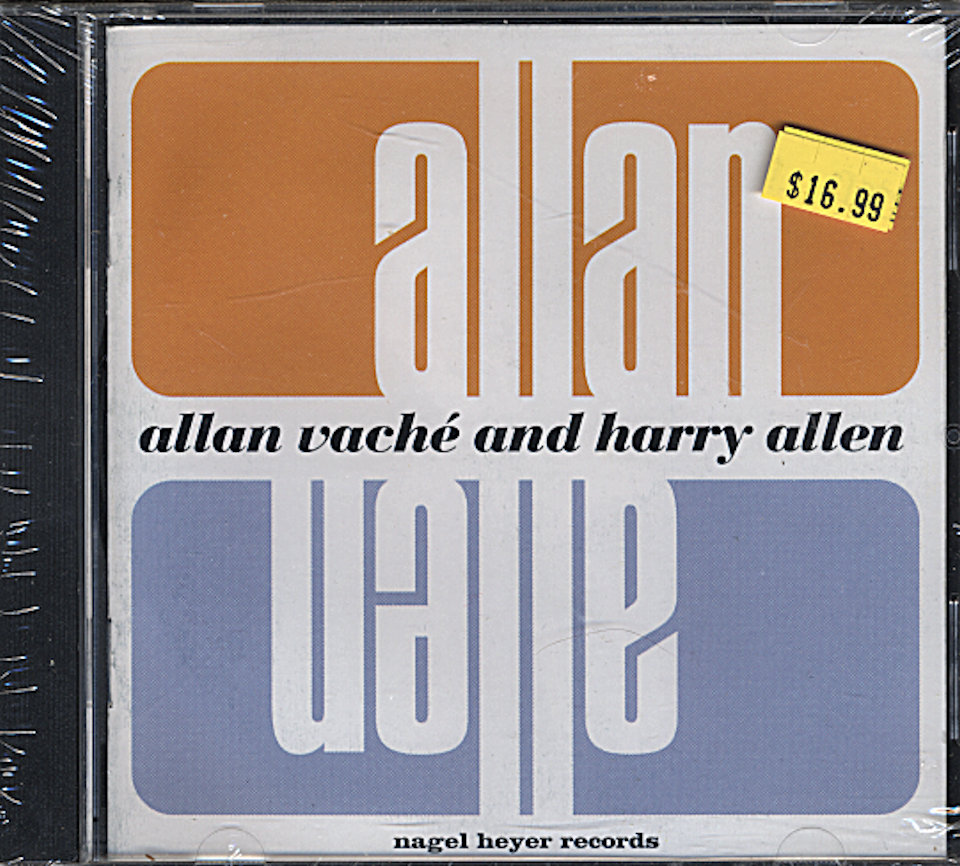 Allan Vache and Harry Allen CD