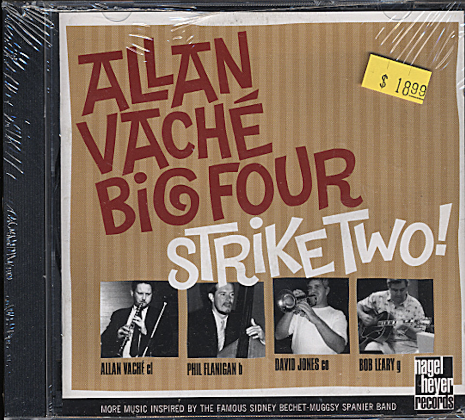 Allan Vache Big Four CD