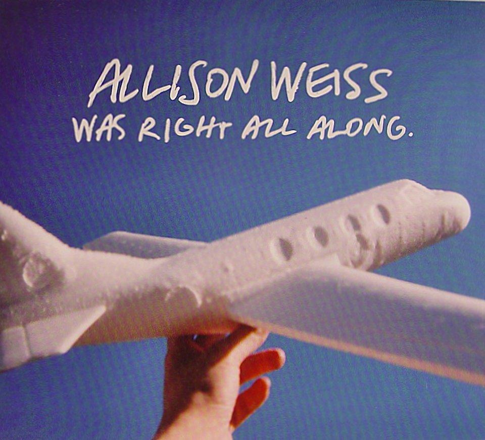 Allison Weiss CD