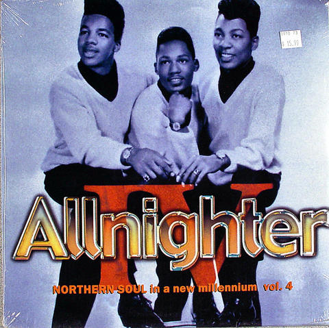 "Allnighter Northern Soul in A New Millennium Vol. 4 Vinyl 12"" (New)"