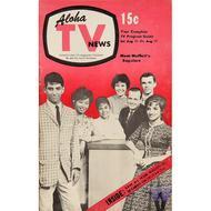 Aloha TV News August 11, 1962 Magazine