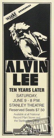 Alvin Lee Poster