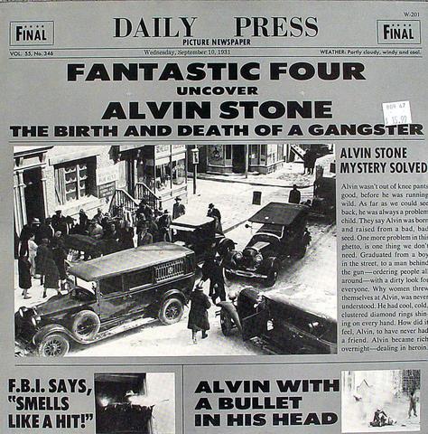 """Alvin Stone Vinyl 12"""" (New)"""
