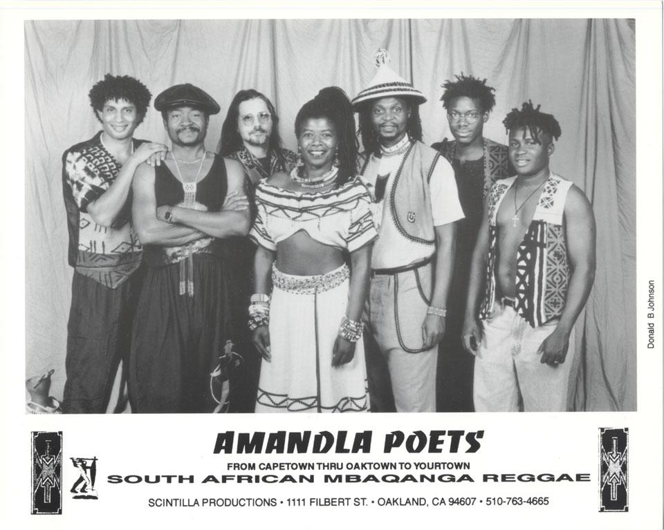 Amandla Poets Promo Print