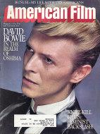American Film Vol. VIII No. 10 Magazine
