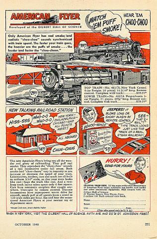 American Flyer Vintage Ad