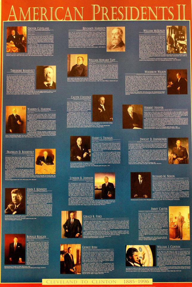 American Presidents II Poster