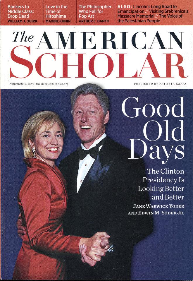 American Scholar Vol. 81 No. 4
