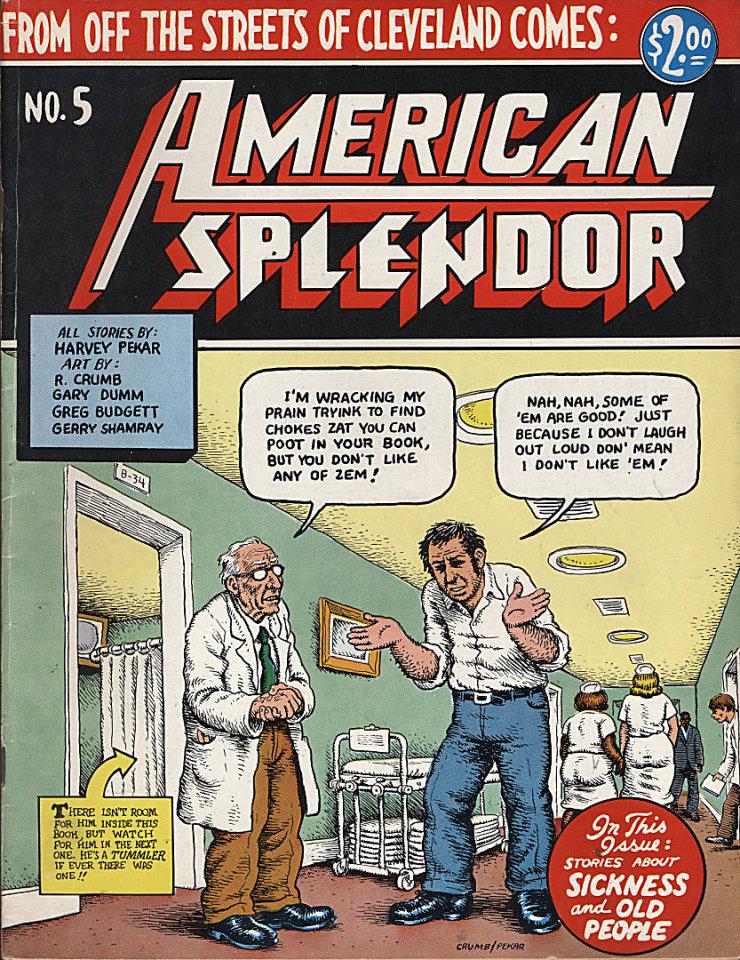 American Splendor #5 Comic Book
