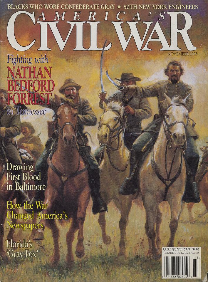 America's Civil War Nov 1,1995