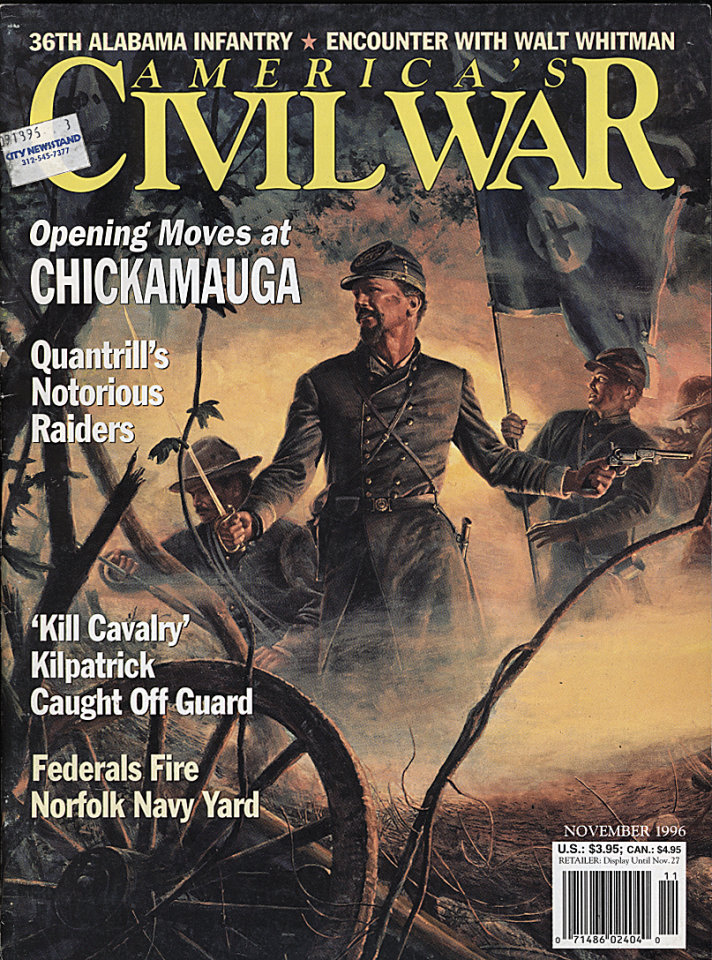 America's Civil War Nov 1,1996