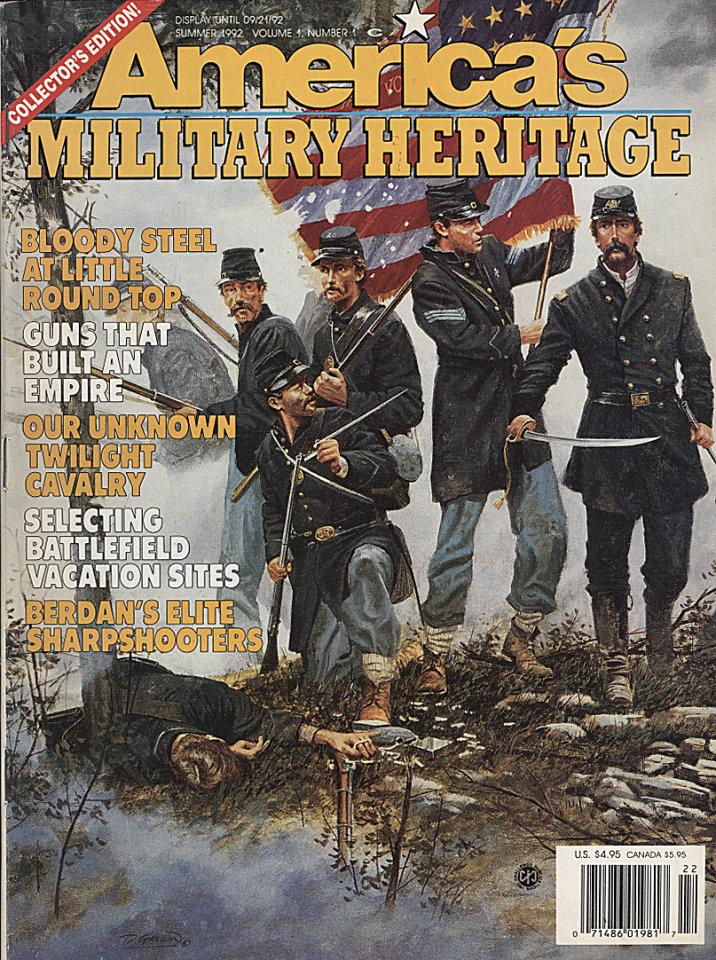 America's Military Heritage Vol. 1 No. 1