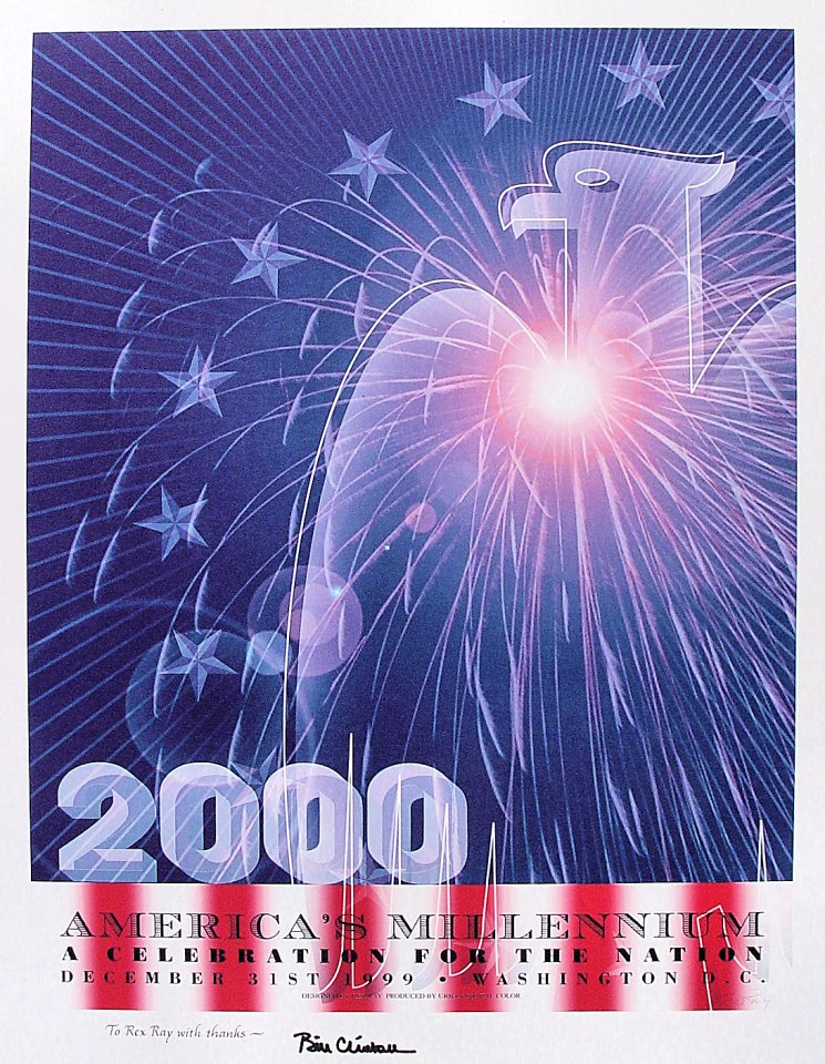 America's Millennium: A Celebration For The Nation Poster