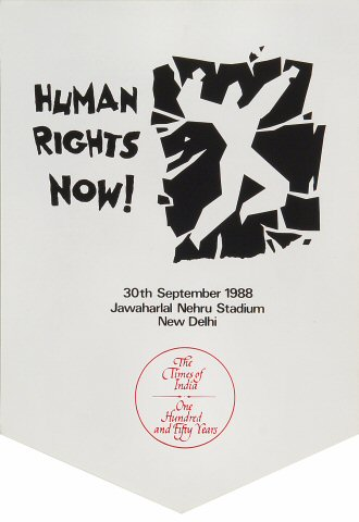 Amnesty International Benefit Handbill