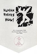 Amnesty International Benefit Handbill