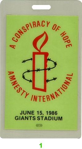 Amnesty International Benefit Laminate
